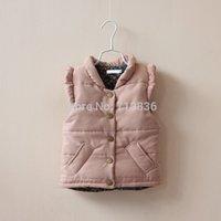 baby girls sleeveless autumn and winter children clothing  BB406CT-42