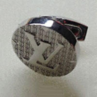 High Quality Brazil Hot Sale Brass Stamping Gemelos Mens cuff links Check Link Replica Designer Suit Shirts Custom Cufflinks