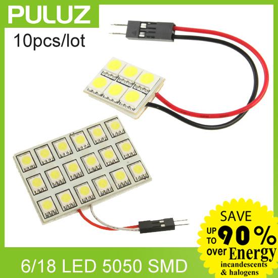 Верхнее освещение Null 10pcs/lot 6pcs18pcs 5050 SMD