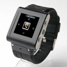 W838 Watch Phone Quad Band Single SIM Card Java Camera Bluetooth FM 1.4 Inch Touch Screen 2GB(China (Mainland))