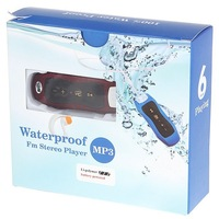 10PCS DHL Sport Waterproof MP3 Player for Water Resistant IPX8 4GB Sport FM MP3 Player for Swimming/Surfing With packaging