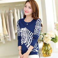 2015 Sale Women Sweater Freeshipping Autumn / Winter Female Knit Pullover Knitting Women Matou Pattern Bottoming Shirt Sweater