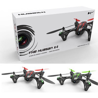 """Hubsan X4 H107C 4 CH 2"""" RC Quadcopter RTF 2.4 Ghz w/SD-Camera Red and Green"""