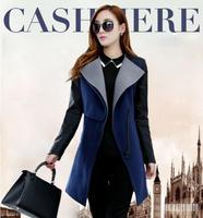 ON Sale promotion 2014 New Fashion Female woolen coat medium-long outerwear fashion autumn and winter autumn women's Cheap HOT