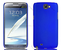 2 x SLIM FITTED HARD ARMOR BACK COVER CASE FOR SAMSUNG GALAXY NOTE 2 II N7100