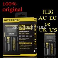 Hottest Selling Nitecore D2 Digicharger LCD Display Battery Charger 100%Original Nitecore Charger EU/US/AU/UK Plug Optional