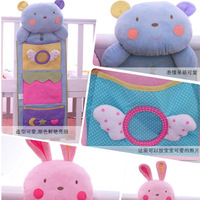 Cartoon baby cloth storage ofhead bag multi-layer diaper bag baby bedding bag