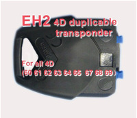 Hot selling 4D car key chip transponder chip for EH2 4D Duplicable Head  with free ahipping