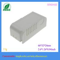 1000 pieces a lot plastic mini box pvc junction box electrical enclosures plastic 66*32*24mm 2.6*1.26*0.94inch