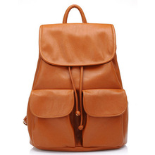 wholesale Women Leather Backpack Mochilas Femininas women travel bags student school Backpack Women Shoulder Bags 2015 new BB21(China (Mainland))