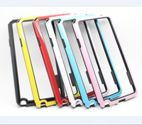 Galaxy Note 3 Bumper Two Color PC+ TPU Soft Case For Samsung Galaxy Note 3 N9006 Bumper With Free Shipping
