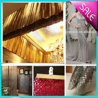 Fashionable and beautiful Gleaming metallic fabrics