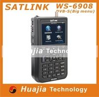 "1pc Original Satlink WS-6908 3.5"" DVB-S FTA digital satellite meter satellite finder ws 6908 satlink ws6908"