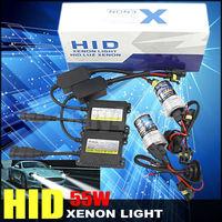 HID Xenon Kit Slim Ballast lights Bulb 55W Car Headlight Single Beam H1 H3 H7 H8 H9 3000K 4300K 5000K 6000K 8000K 10000K 12000K