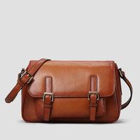 2014 Freeshipping Cover Trunk Women None New Arrival Real Bag Ladies Bolsa Feminina Female Handmade Leather Shoulder Messenger