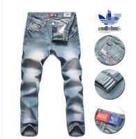 Men's jeans Metrosexual business straight tube code explosion models of men's pants jeans