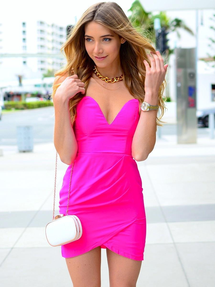 Tight Pink Dress | But Dress
