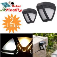 Low-maintenance Solar Lights Energy-efficient Garden Columbia Outdoor Lawn Fence Light