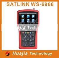Original Satlink WS-6966 Satellite Finder Meter MPEG4 DVB-S2 Meter Satlink WS6966 HD HDMI Satellite Singnal Finder