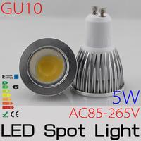 4w GU10 LED spotlight  High Brightness COB  refletor led led lampada POWER led spot lamp AC110V/220V/230V FREESHIPPING