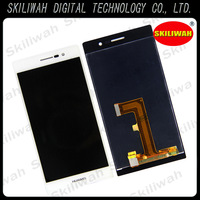 ORIGINAL LCD Assembly for Huawei Ascend P7 Touch Screen+LCD White Aliexpress Free Shipping