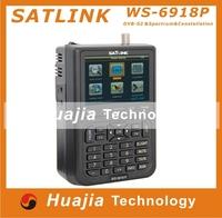 1pc Original Satlink WS-6918p DVB-S2 Satellite Finder Meter Satlink 6918p ws6918 finder