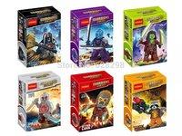 High Quality 2014 New Guardians of Galaxy Ronan Rocket Raccoonl drax mini figures 6pcs/lot building blocks boy toy free shipping