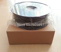 Good Quality Black Color ABS 1.75mm 3D Printer Filament For Makerbot, RepRap, Cubify, Mendel, Huxley UP 3D Printer 1KG/Roll