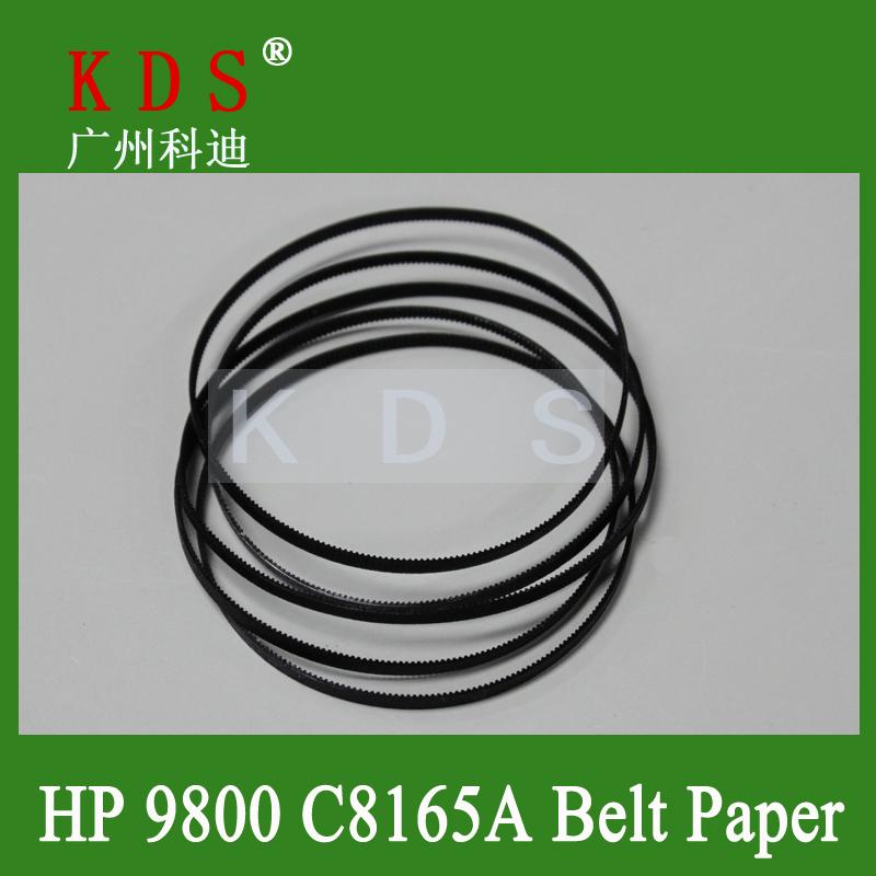 10pcs/lot Free Shipping Printer Plotter Parts C8165-67038 DesignJet 9800 Carriage Small Belt C8165A-Belt_Paper In Black(China (Mainland))