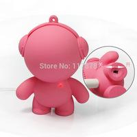 Music Doll carton mini speaker portable audio player Christmas gift