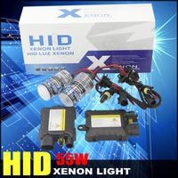 55W Hi lo Car Headlight Xenon HID Conversion Kit Slim Ballast Bulb H1 H3 H7 H8 H9 3000K 4300K 5000K 6000K 8000K 10000K 12000K