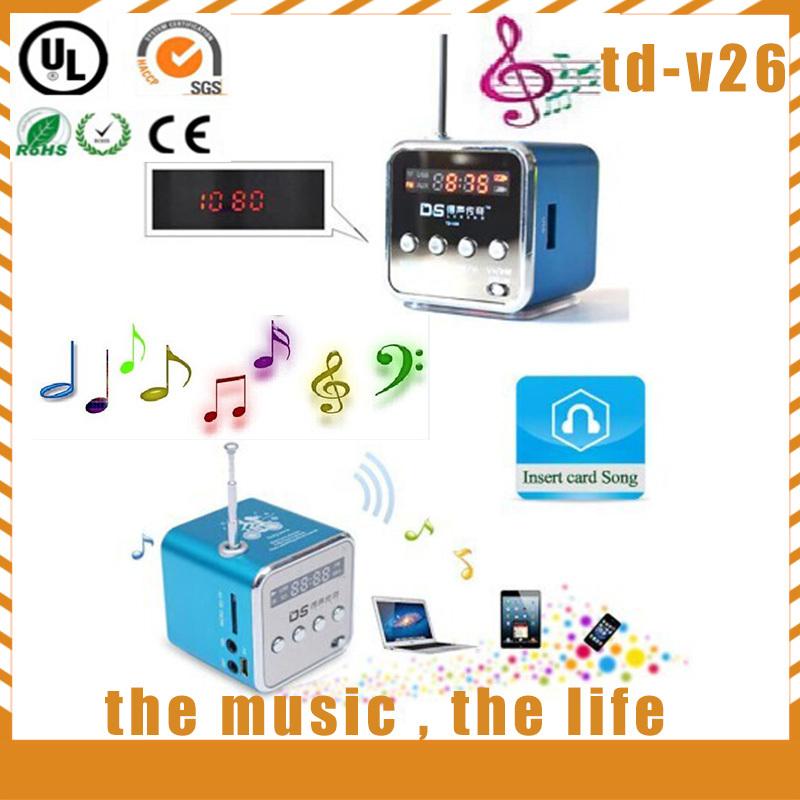 2014 New On-line! Speakers,no bluetooth speaker, Micro SD/TF Card MP3/4, FM Radio, Wireless Portable Mini Speaker Free shipping(China (Mainland))
