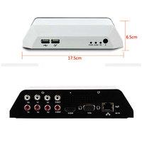 CCTV DVR 4CH MINI Household home USB Mobile Hard disk 1 D1 H.264 Car Phone monitoring HDMI(European standard plug)