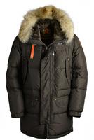 Free Shipping  2014 Winter Mens Brand High Fill Power Quality Harraseeket Fall Jackets Parkas Hooded Real Fur Raccoon Down Coats