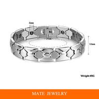 Mens Magnet 2014 New Health Balance Energy Magnetic Bracelet Jewelry (MATE B175)