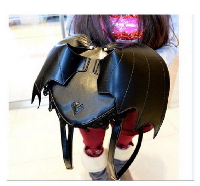 Bat Heart Backpack Love Bat Wings Backpack