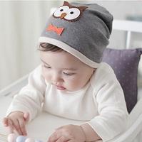 Cute Baby Cotton Beanie Hats For Girls Beautiful Soft Cotton Infant Hats Girls Spring Autumn Hats Children's Cap 1pc H592