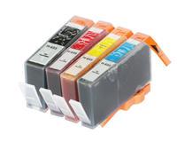 4 ink cartridge with chip full of ink for HP655 HP 655 Deskjet Ink Advantage 3525/4615/4625/5525/6520/6525 Printer Europe