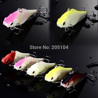 Hot 5 colors lures ice fishing 5pcs/lot Minnow fishing lure pesca fishing tackle free  shipping winter fishing