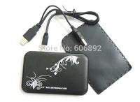 2.5 Inch 100% New Portable External Hard Drive Enclosure Case USB2.0 HDD Case for Laptop& Desktops SATA disco duro