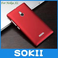 [case]100pcs/lot For nokia XL hard rubber case cover,Hybrid Hard Case Cover For nokia XL back cover