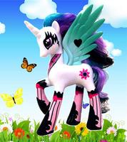 Anime Club 2014 HOT NEW Princess Celestia cool fashion toys new horse for girl