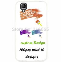 custom design logo printing plastic pc cover hard case for wiko goa Coque Etui Housse free dhl 100pcs mix 10