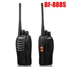 2014 Brand BaoFeng 888S Walkie Talkie High Quality 5W 400-470 MHz Black Portable Radio Walkie Talkie Two Way Radio Free Shipping
