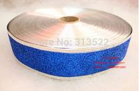 10 pcs Christmas decorations 200 * 5cm dark blue color grade Christmas onion powder color ribbon wedding ribbon christmas belt