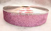 10 pcs Christmas decorations 200 * 5cm pink color grade Christmas onion powder color ribbon wedding ribbon christmas belt