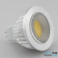4w MR16 LED spotlight  High Brightness COB  refletor led led lampada POWER led spot lamp DC12V FREESHIPPING
