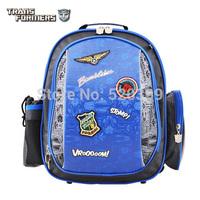 Transformers cartoon students orthopedic school bag books child/children/ergonomic backpack grade/class 1-2 supplies for  boys