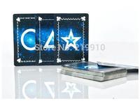 Free Shipping Stripper Deck Black  -- Magic Trick, Fun Magic, Party Magic.