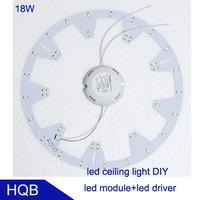 Round18W Retrofit led ceiling light,Aluminium Plate Replace CFL 38W